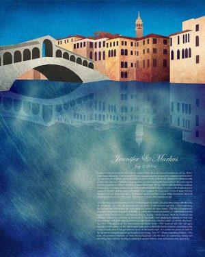 Venice, Italy Ketubah