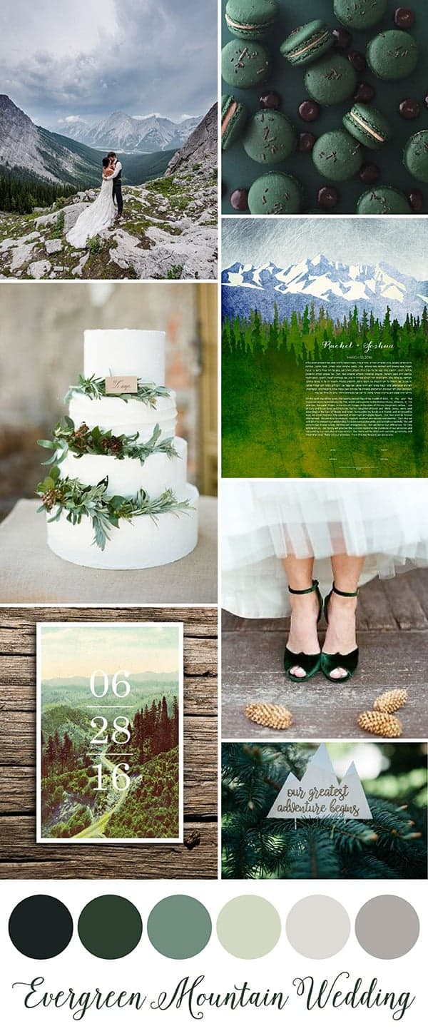Evergreen Mountain Wedding