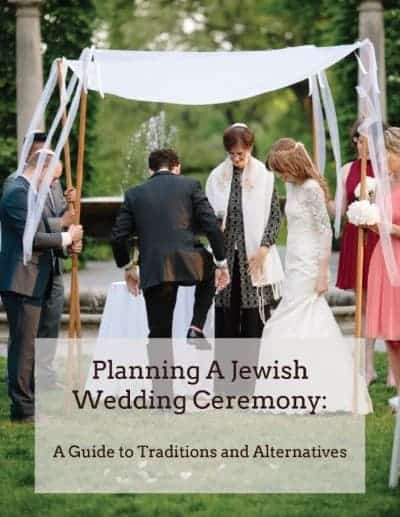 free a great guide to planning your jewish wedding