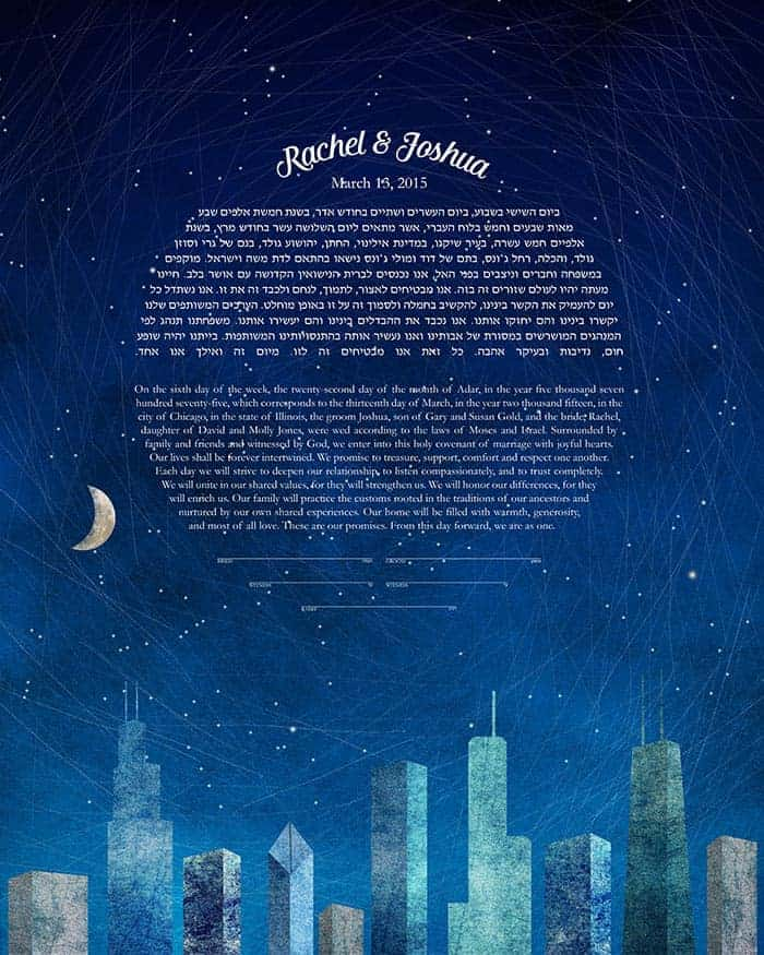P S Here S A Little Wedding Mood Board I Created Featuring The Star Map Ketubah If I Were To Get Married All Over Again I Would Totally Have A Starry