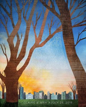 Central Park, New York City Ketubah