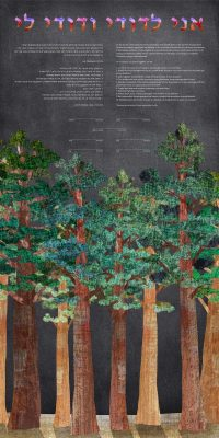 Redwoods at Night Ketubah