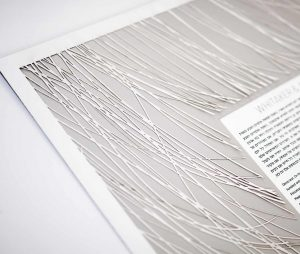 Swept Away Paper Cut Ketubah Fine Art Jewish Wedding Contemporary Judaica Modern Laser Cut