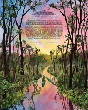 Florida Swamp Ketubah