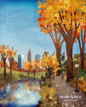 Central Park New York City Ketubah_2