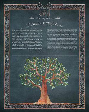 Tree with Custom Border