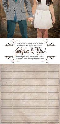 Eliot and Julyssa Ketubah
