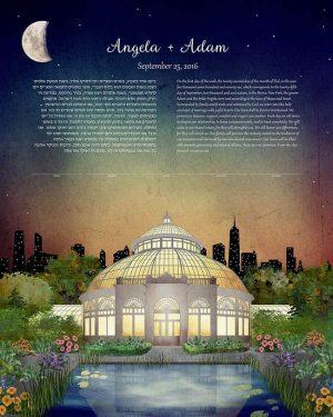 New York Botanical Garden Ketubah