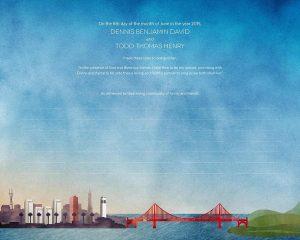 San Francisco Ketubah