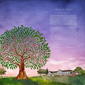 Woodmont Country Club Maryland Ketubah