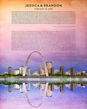 St. Louis Missouri Ketubah